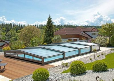 Abri de piscine - Réalisation Verandair / Pool Cover