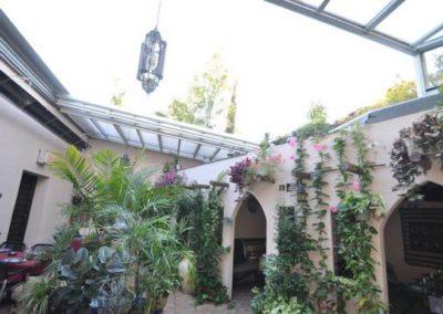 Abri de terrasse pour horeca (bar, restaurant) - Réalisation Verandair