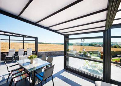 Véranda bioclimatique - Une réalisation Verandair