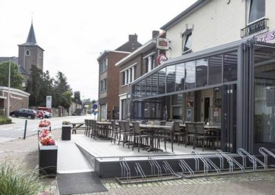 Véranda bar, restaurant - Une réalisation Verandair