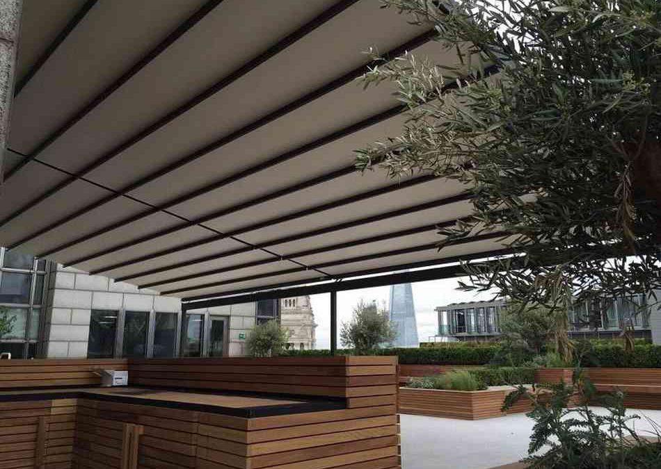 Terrasse couverte: pour une terrasse exploitable toute l\'année!