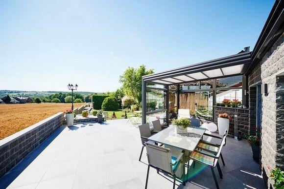 Un abri de terrasse rétractable pour profiter toute l'année de votre terrasse