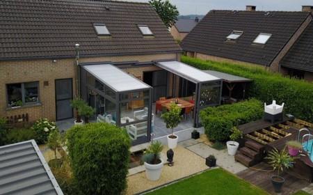 Photo d'une réalisation Verandair à Namur / Abri de terrasse