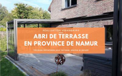 Réalisation d'une véranda rétractable 10 x 5 en province de Namur