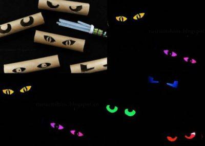 Déco Halloween: yeux effrayants (Source de l'image: Topito)