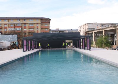 Véranda coulissante Verandair pour piscine
