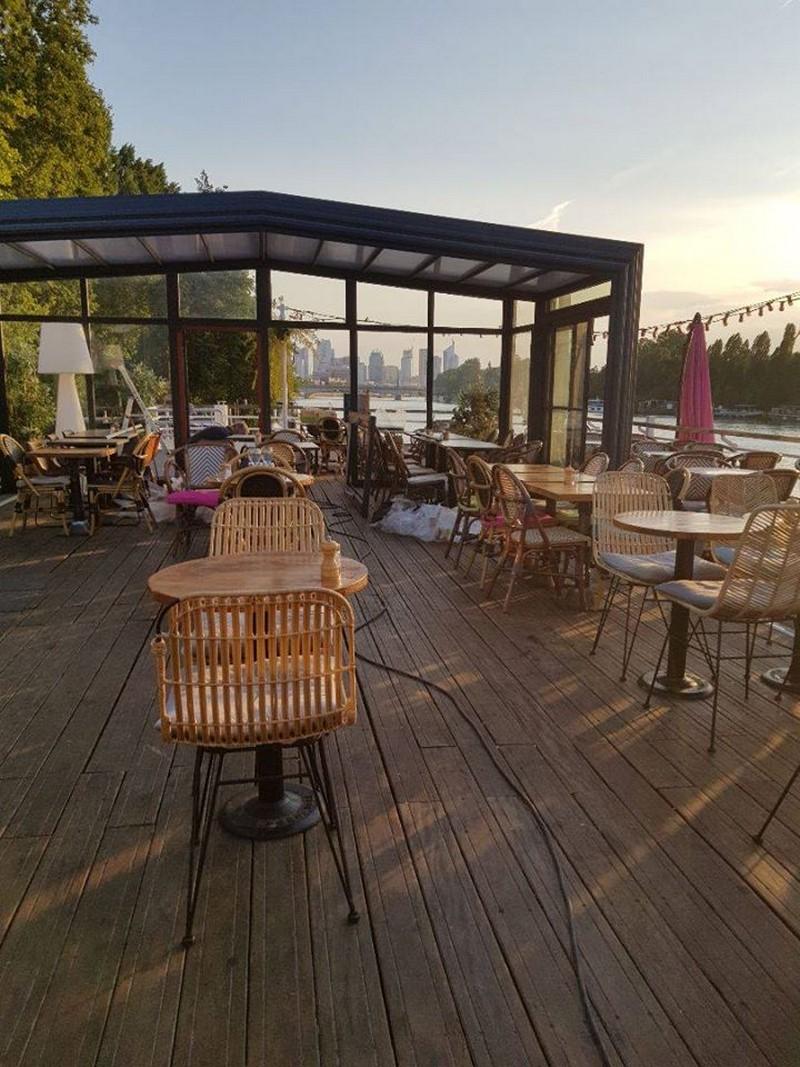 Vue sur la Seine, une véranda pour horeca | Verandair, véranda et pergola