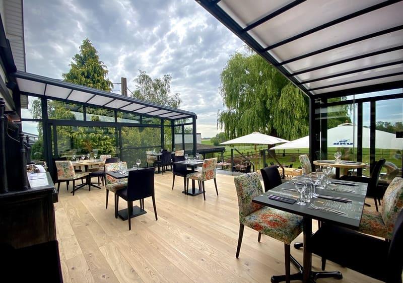 véranda, terrasse couverte pour horeca