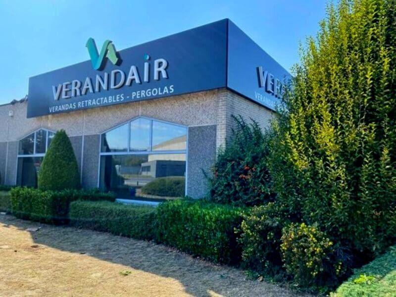 Un nouveau showroom à Tournai pour VERANDAIR
