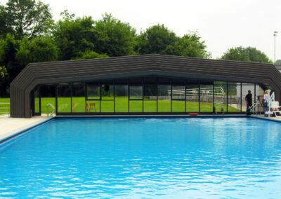 abri piscine haut pour collectivité grandes dimensions luxembourg
